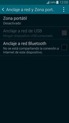 Configura el hotspot móvil - Samsung Galaxy Alpha - G850 - Passo 5