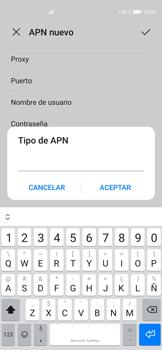 Configura el Internet - Huawei P40 - Passo 13