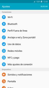 Configura el hotspot móvil - Samsung Galaxy Note 5 - N920 - Passo 4