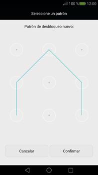 Desbloqueo del equipo por medio del patrón - Huawei Mate S - Passo 9