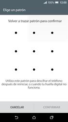 Desbloqueo del equipo por medio del patrón - HTC One A9 - Passo 9