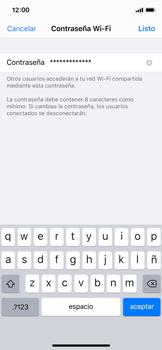 Configura el hotspot móvil - Apple iPhone 11 Pro - Passo 5