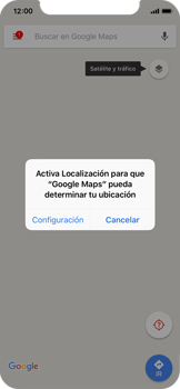 Uso de la navegación GPS - Apple iPhone X - Passo 4
