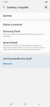 Realiza una copia de seguridad con tu cuenta - Samsung Galaxy A10 - Passo 5