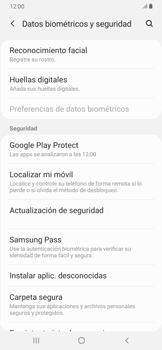 Habilitar seguridad de huella digital - Samsung Galaxy A30 - Passo 4