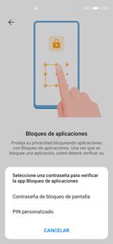 Cómo habilitar la función Bloqueo de aplicaciones - Huawei P40 - Passo 6