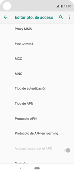 Configura el Internet - Motorola One Vision (Single SIM) - Passo 14