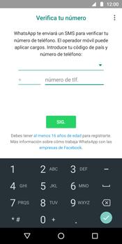 Configuración de Whatsapp - Motorola Moto G6 Plus - Passo 8