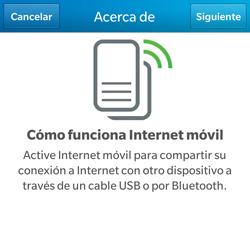Comparte la conexión de datos con una PC - BlackBerry Q5 - Passo 6