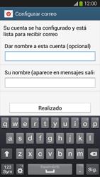 Configura tu correo electrónico - Samsung Galaxy Zoom S4 - C105 - Passo 20