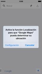 Uso de la navegación GPS - Apple iPhone 5c - Passo 6