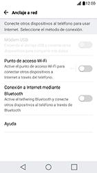 Configura el hotspot móvil - LG X Cam - Passo 4