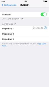 Conecta con otro dispositivo Bluetooth - Apple iPhone 7 Plus - Passo 6