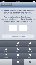 Configuración de Whatsapp - Apple iPhone 5s - Passo 8