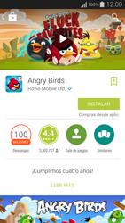 Instala las aplicaciones - Samsung Galaxy Alpha - G850 - Passo 17