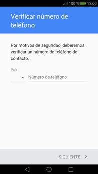Crea una cuenta - Huawei Mate S - Passo 5
