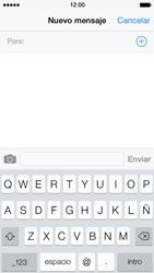 Envía fotos, videos y audio por mensaje de texto - Apple iPhone 5s - Passo 3