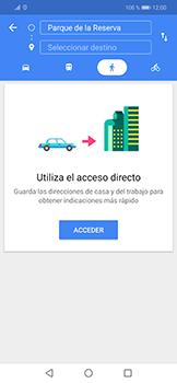Uso de la navegación GPS - Huawei Mate 20 Lite - Passo 12