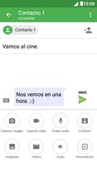 Envía fotos, videos y audio por mensaje de texto - Alcatel Pixi 4 5 - OT5045 - Passo 13
