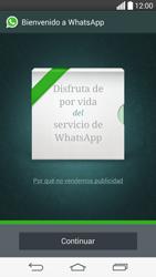 Configuración de Whatsapp - LG G3 Beat - Passo 9