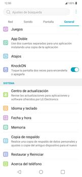 Cómo encender o apagar la pantalla con dos toques - LG K50s - Passo 4