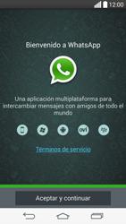 Configuración de Whatsapp - LG G3 Beat - Passo 4
