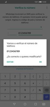 Configuración de Whatsapp - Huawei P30 Lite - Passo 6