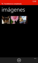 Transferir fotos vía Bluetooth - Nokia Lumia 635 - Passo 12