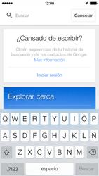 Uso de la navegación GPS - Apple iPhone 5c - Passo 12