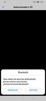 Transferir fotos vía Bluetooth - Huawei Mate 20 Lite - Passo 11