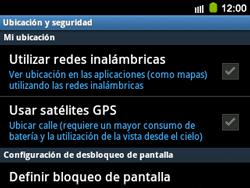 Uso de la navegación GPS - Samsung Galaxy Y Pro GT - B5510 - Passo 5