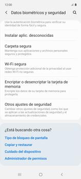 Cómo habilitar la función Bloqueo de aplicaciones - Samsung Galaxy A51 - Passo 5