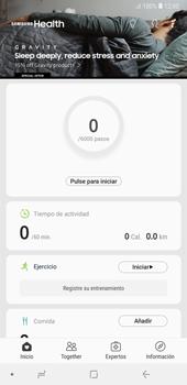 Samsung Health - Samsung A7 2018 - Passo 10