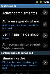 Configura el Internet - Samsung Galaxy Ace  GT - S5830 - Passo 25