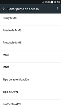 Configura el Internet - HTC U11 - Passo 13
