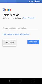 Crea una cuenta - LG Q6 - Passo 3