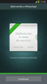 Configuración de Whatsapp - Samsung Galaxy Note Neo III - N7505 - Passo 9