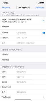 Crea una cuenta - Apple iPhone XS Max - Passo 14
