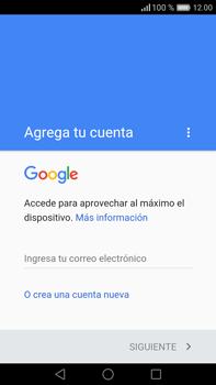 Crea una cuenta - Huawei Mate 8 - Passo 2