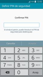 Desbloqueo del equipo por medio del patrón - Samsung Galaxy A5 - A500M - Passo 13