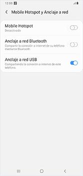 Comparte la conexión de datos con una PC - Samsung Galaxy A10 - Passo 9