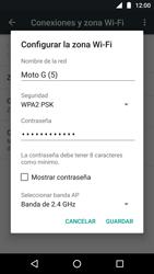Configura el hotspot móvil - Motorola Moto G5 - Passo 7