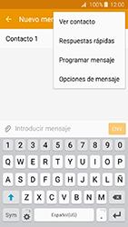 Envía fotos, videos y audio por mensaje de texto - Samsung Galaxy J3 - J320 - Passo 9