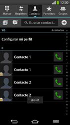 ¿Tu equipo puede copiar contactos a la SIM card? - LG G Flex - Passo 10