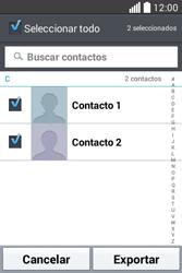 ¿Tu equipo puede copiar contactos a la SIM card? - LG L40 - Passo 8