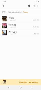 Transferir datos desde la tarjeta SD a tu dispositivo - Samsung Galaxy A30 - Passo 9