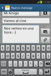 Envía fotos, videos y audio por mensaje de texto - Samsung Galaxy Fame Lite - S6790 - Passo 12
