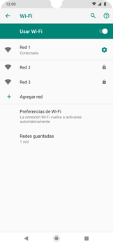 Configura el WiFi - Motorola One Zoom - Passo 9