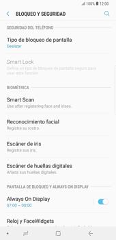 Activa o desactiva el uso del código de seguridad - Samsung Galaxy Note 9 - Passo 4