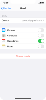 Desactivar la sincronización automática - Apple iPhone XS - Passo 7